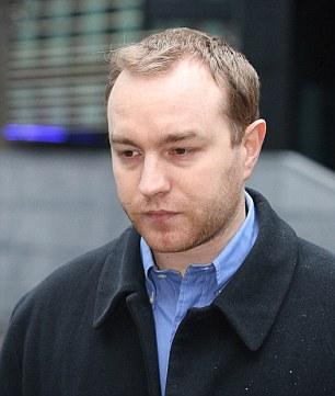 Tom Hayes, pictured outside Southwark Crown Court. He has pleaded not guilty to eight charges