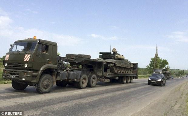 Laissant: Les chars ont ensuite été emportés, mais on ne sait pas ce que la destination était