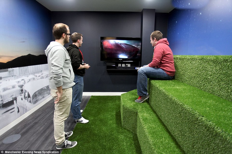 Is This The Coolest Office In Britain Firm Spends 2