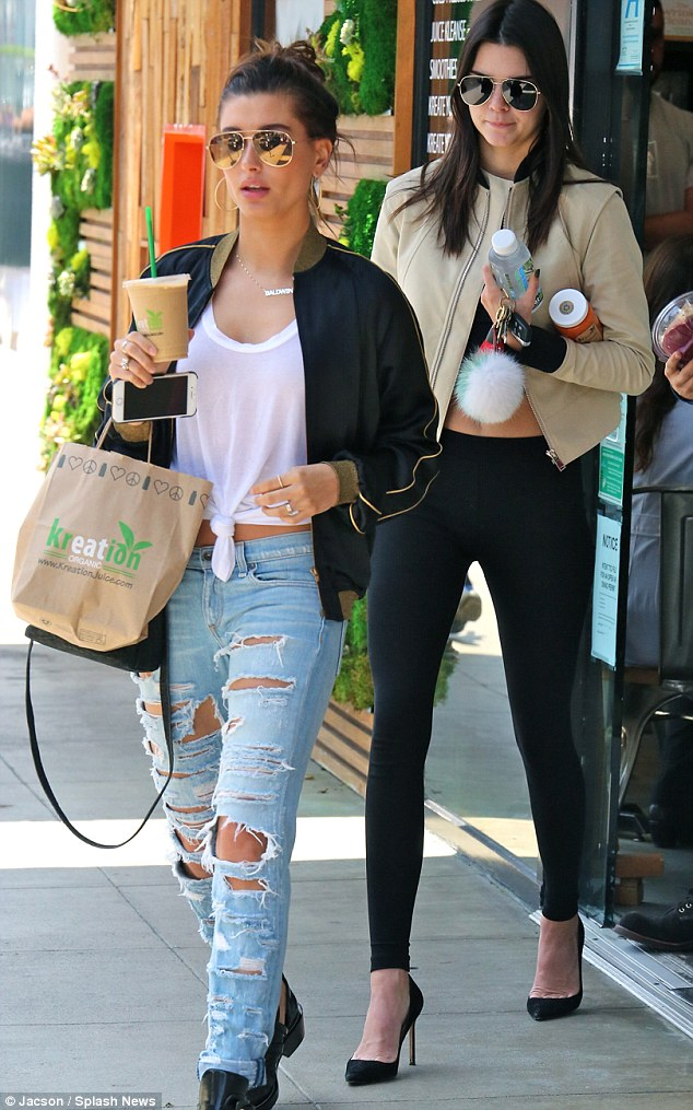 Kendall Jenner With Hailey Baldwin As Its Claimed Lewis