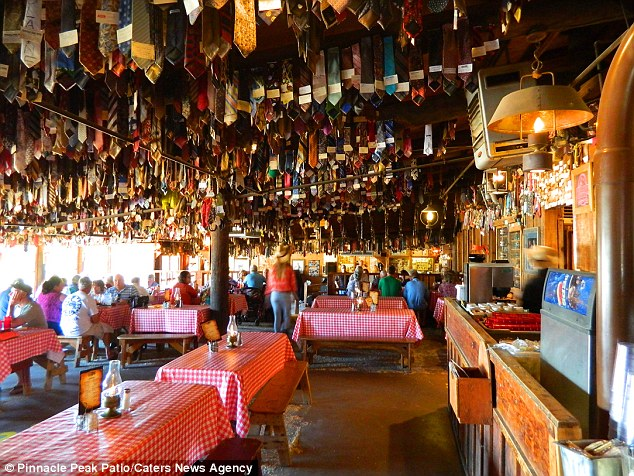 Arizona steakhouse that enforces noties snips off more than 1M from customers  Daily Mail Online