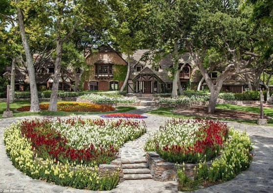 On sale! Michael Jackson's Neverland Ranch, pictured recently, has been put on the market for $100 million