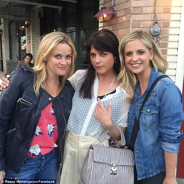 'Best girls night of the year!' The actresses were thrilled to be together again