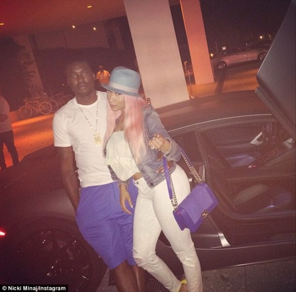 'For him, it was really great. Like, super, super great!' The Feeling Myself hitmakerrecently engaged in a semi-public tryst in theback of her Range Rover with her boyfriend, Meek Mill