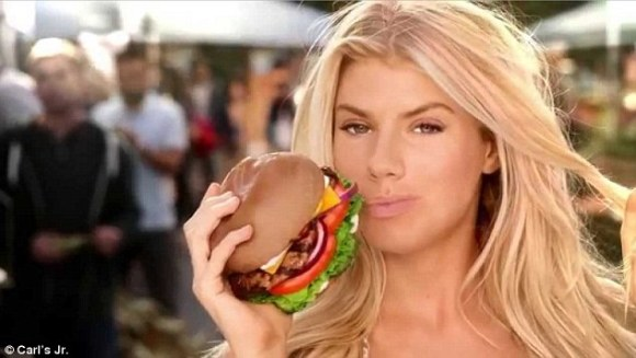 Big break :Charlotte McKinney (above) starred in their Super Bowl commercial for the brand this year