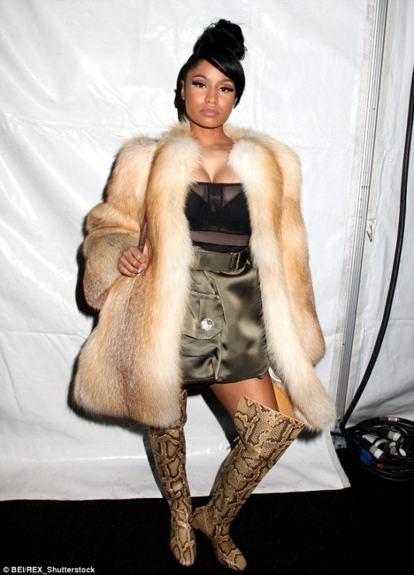 'I decided early on that I wouldn't sleep with men in the business': But when it comes to her enviable hip-hop career, Nicki says no to hanky panky and refuses to be 'flirtatious'