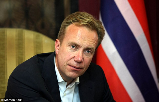 Image result for Borge Brende