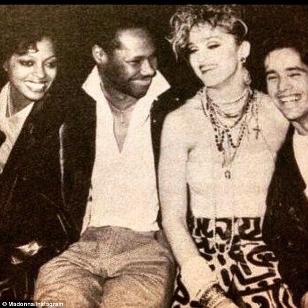 Madonna Posts Vintage Snaps On Instagram Including Diana
