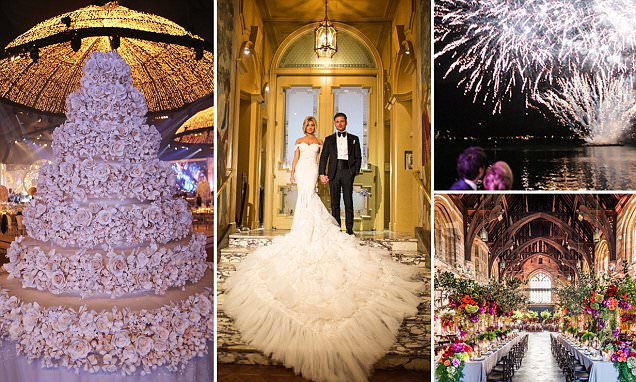 Inside the worlds most extravagant weddings with million