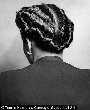 hairstyles worn by african american women in the 40s 50s and 60s daily mail online