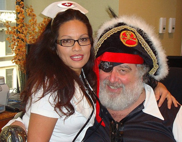 Former FIFA committee executive member Blazer poses for a picture while dressed as a pirate
