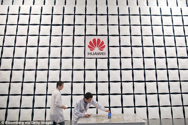 Canadian telecoms giant Nortel contracts to a new Chinese company, Huawei (pictured), which consistently bid 30 per cent less to do the same work