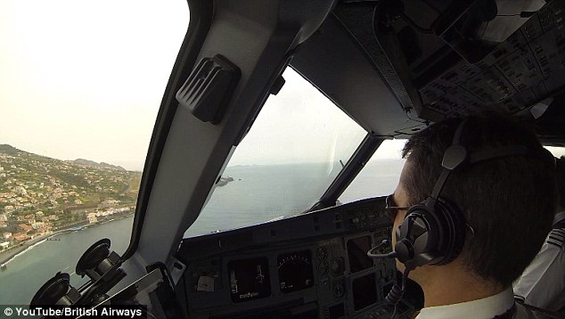 In order to land in Funchal pilots must undergo training and be approved by Portuguese aviation authorities