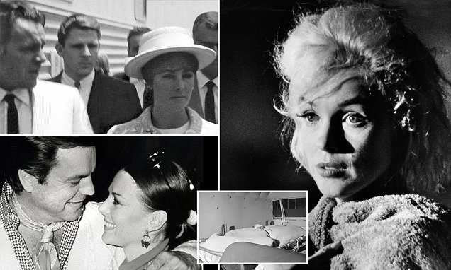 Marilyn Monroe had purple blotches on her face falsie