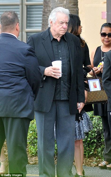 David Siegel clutched his drink