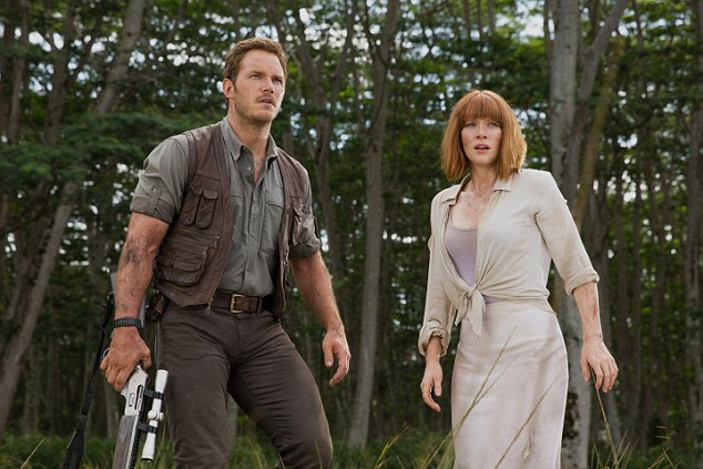 Star cast: Chris Pratt takes the lead as the action hero while Bryce Dallas Howard's character Claire Dearing is a scientist who has been conducting research on dinosaurs in the new Jurassic film