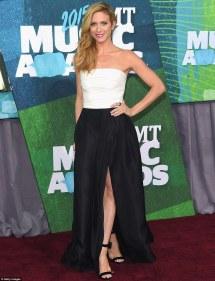Brittany Snow Black Dress