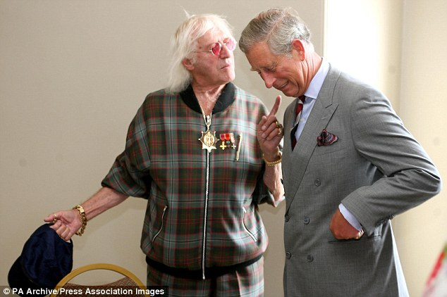Image result for savile and prince charles