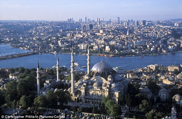 A family of 12 from Bradford including nine children are feared to have fled to join Islamic State after flying from Saudi Arabia to Istanbul (pictured)