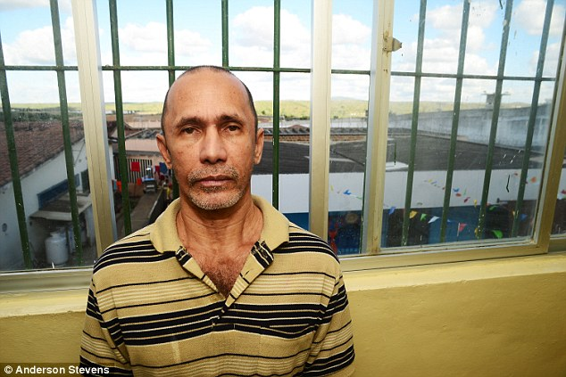 Confessed cannibal Jorge Beltrao Negromonte hadn't savoured the 'succulent' taste of human flesh for at least three years - and MailOnline was about to spend the next four hours alone with him