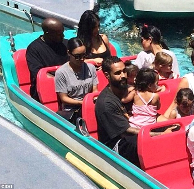 Photos From North West Disneyland Birthday Party