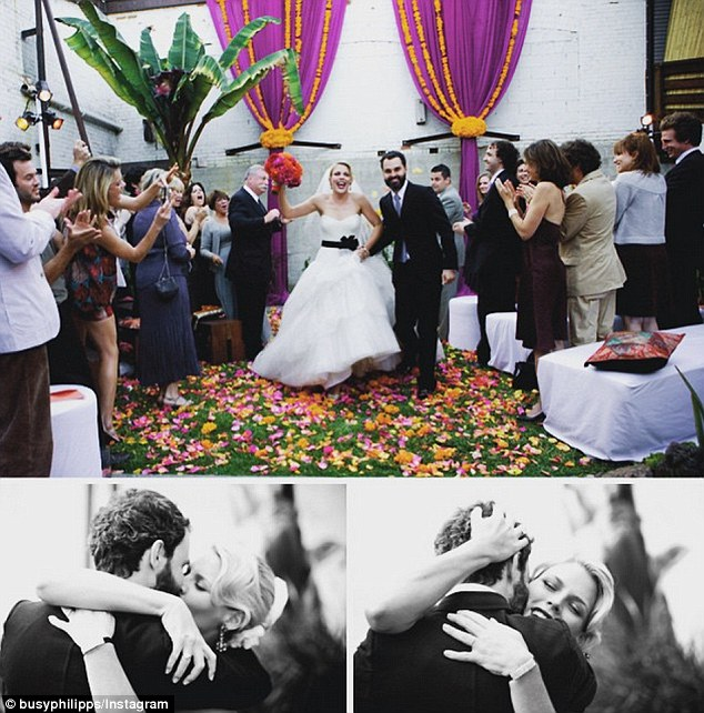 Busy Philipps celebrates eighth wedding anniversary to