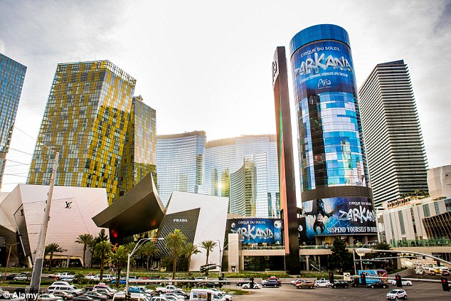 Las Vegas' Aria Resort and Casino, completes the top 10 with 4,004 rooms and suites
