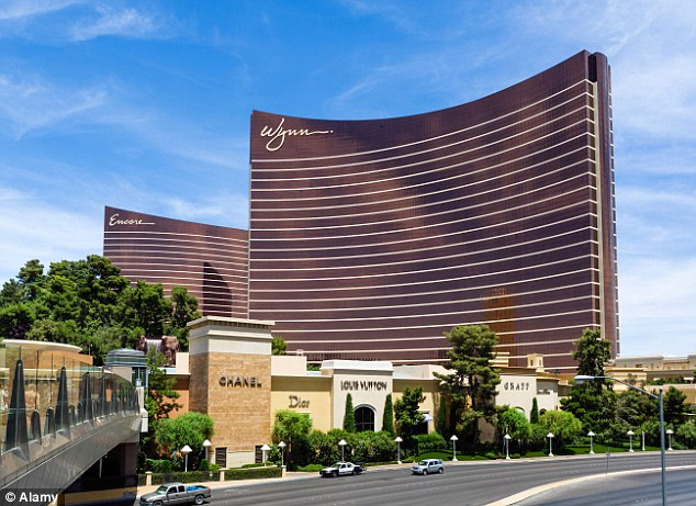 Fifth is the Wynn Hotel in Las Vegas, flanked by a raft of boutique shops and stores