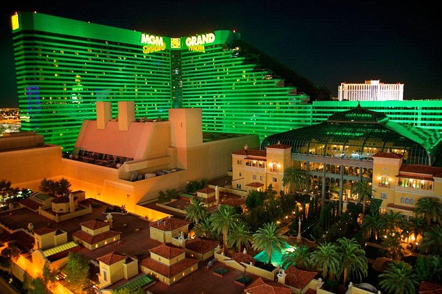 The MGM Grand Hotel and Casino has the largest number of rooms in the world with 6,852
