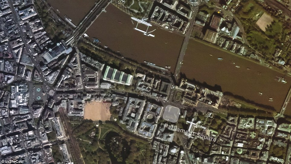 Urthecast today revealed that it is ready to switch on a continuous, colour video feed of the planet from the ISS in high-definition. And in preparation, it has launched the first ever, full-colour HD videos of Earth – showing London (pictured), Boston and Barcelona