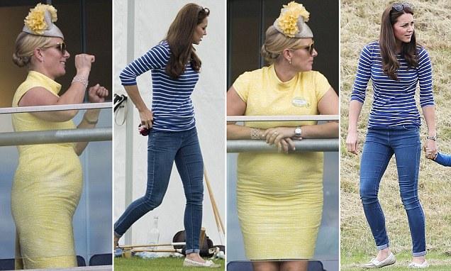 Why the Duchess of Cambridge and Zara Philips' baby weight just won't budge