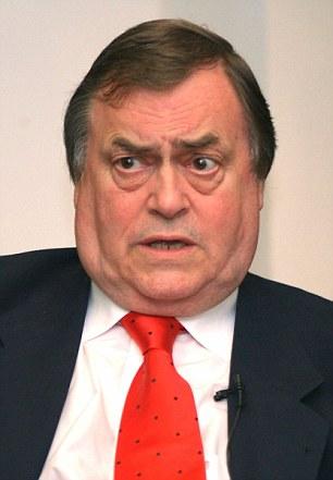 Former deputy PM John Prescott