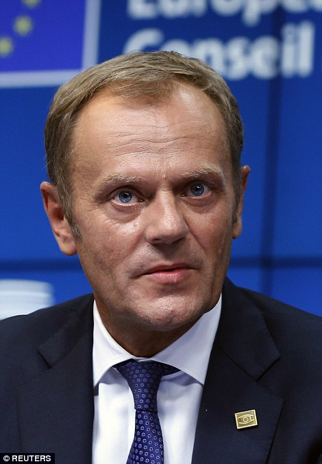 EU president Donald Tusk has told Greece to take the offer or head towards default