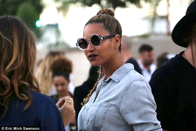 Art enthusiasts: Jay-Z, 45, and Beyoncé, 33, were spotted on Saturday while attending a Wes Lang art show in Los Angeles