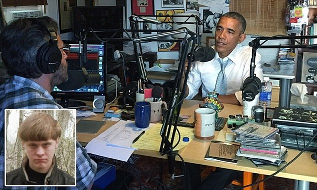 Obama uses N-word in WTF podcast with Marc Maron