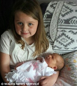 Lois with baby Betsi