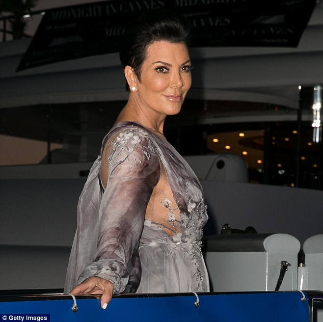 Postive: Kris went on to tell Extra she thought Caitlyn was an inspiration to many for following her dream
