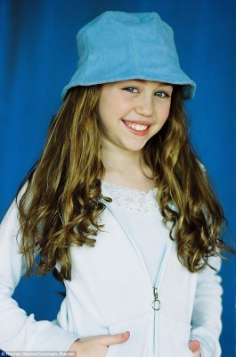 Check Out Cute Throwback Photos Of 11-year old Miley Ray Cyrus
