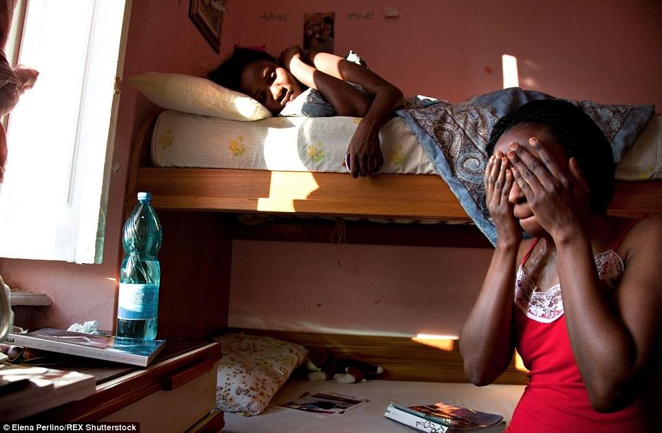 Italian priests EXORCISE prostitute Nigerian migrant girls