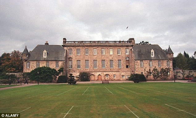 Scotland's Crown Office said files on the case of a teacher accused of sexually assaulting children at Gordonstoun (pictured) in the Scottish Highlands could not be found despite being passed on by the police