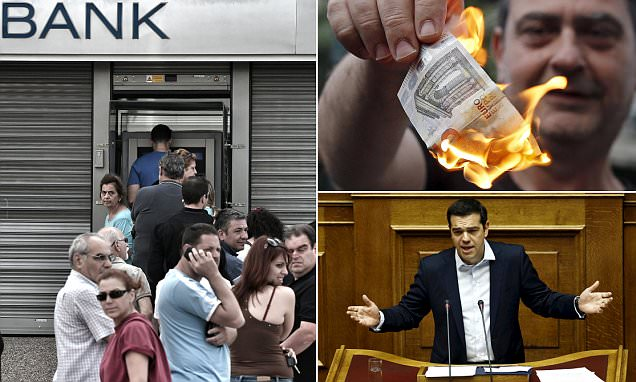 Greek banks may stay shut until July 7 to impose capital controls