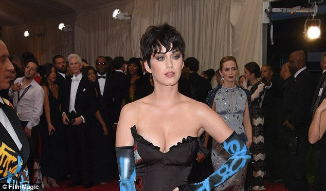 Feud:Katy Perry (above in May at the Met Gala) is about to head to court against the sisters at Immaculate Heart of Mary