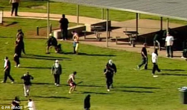 On the loose: About 300 criminals are rioting and guards have been overrun at a Melbourne prison, with more than 100 officers trying to stop