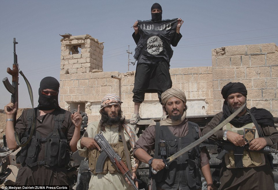 Isis fighters, such as the ones pictured here in Syria, appear to be carrying out their promise to step up attacks for the holy month of Ramadan