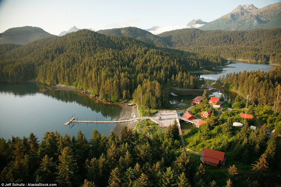 A secluded cove at the tip of Alaska's Kenai Peninsula harbors Tutka Bay Lodge, an intimate family-owned wilderness lodge with a culinary twist