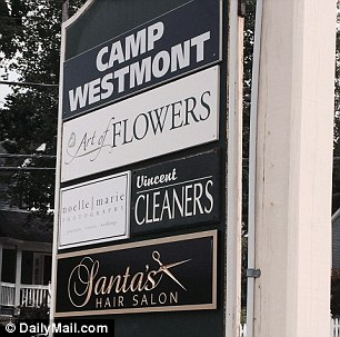 Exclusive: Santa's Hair Salon in Chappaqua, which the emails disclosed was used by Hillary.