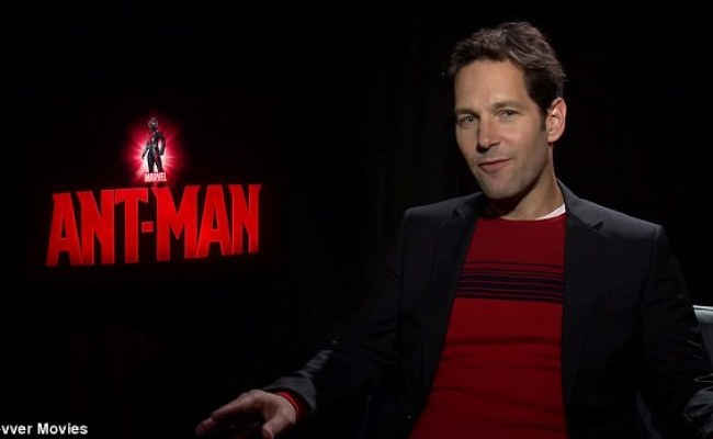 Paul Rudd Farts During Ant Man Interview And Gets Star