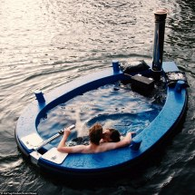 Set Sail Revolutionary 'hot Tug' Hot Tub Boat