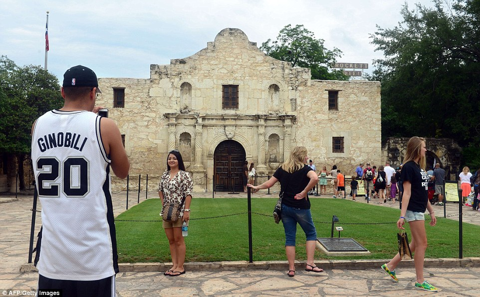The Alamo, part of the San Antonio Missions, was the site of a famous battle between outnumbered Texas settlers and Mexican forces