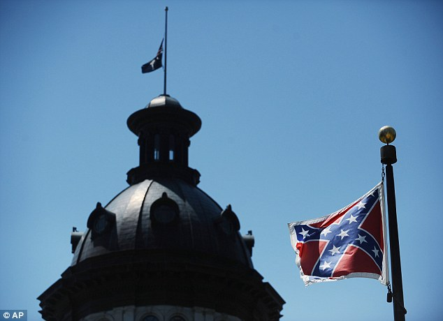 A bill to remove the flag from the state grounds passed a crucial second reading by an overwhelming vote of 37-3 after an emotional debate in the state Senate. In this June 19, 2015 file photo, the Confederate flag flies near the South Carolina Statehouse in Columbia, S.C.
